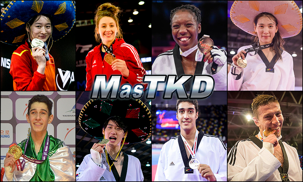 Números 1 – WTF World Olympic Ranking – Taekwondo WTF – Abril 2016.