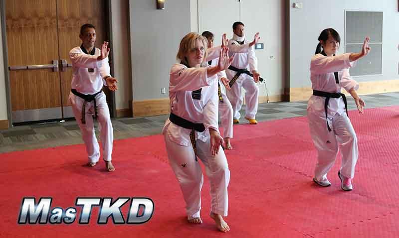 Seminario Taekwondo Poomsae, IR