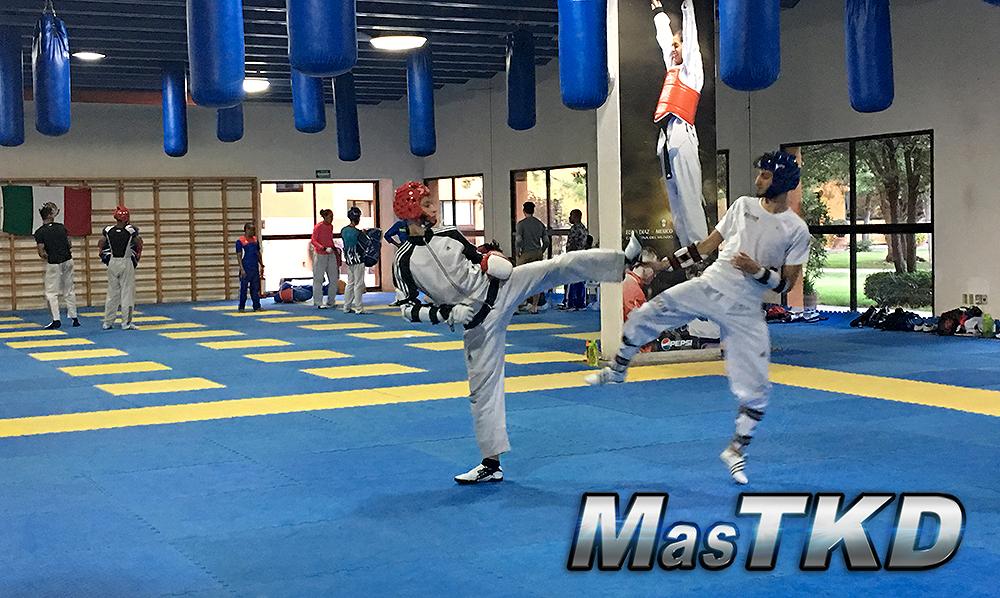 Taekwondo-La-Loma Combate
