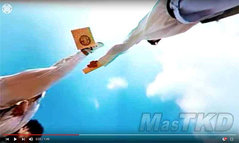 Taekwondo en 360 grados gracias a LG y Red Bull