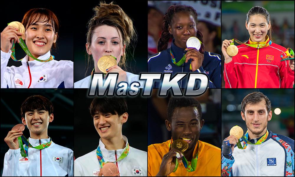 Números 1 – WTF World Olympic Ranking – Taekwondo WTF – Septiembre 2016