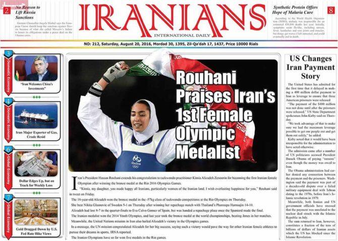 Kimia-Alizadeh-Zenoorin-Olympics-medal-coverage-4