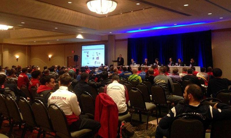 Gráficas completas del Campeonato Mundial Juvenil de la WTF que se estará llevando a cabo del 16 al 20 de Noviembre de 2016 en el Bill Copeland Sports Centre de la ciudad de Burnaby en Canadá