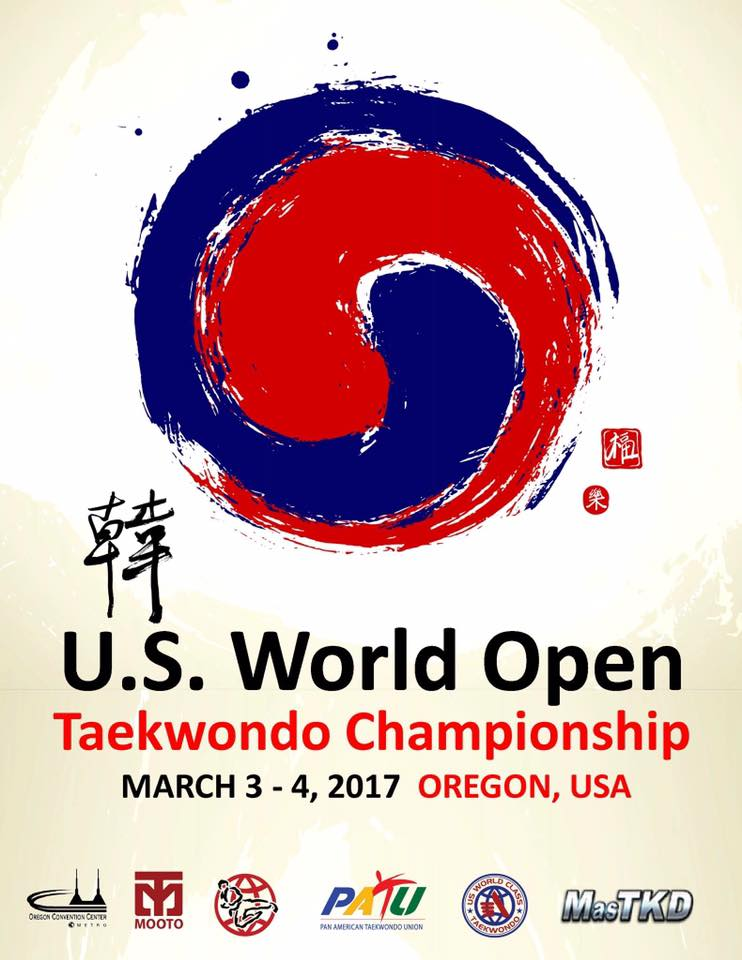 POSTER_2017 US World Open Taekwondo Championships