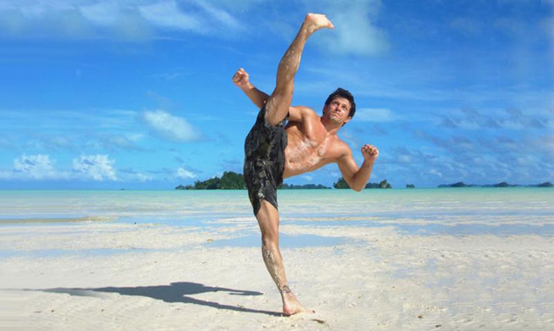 Taekwondo en la playa ya es un hecho