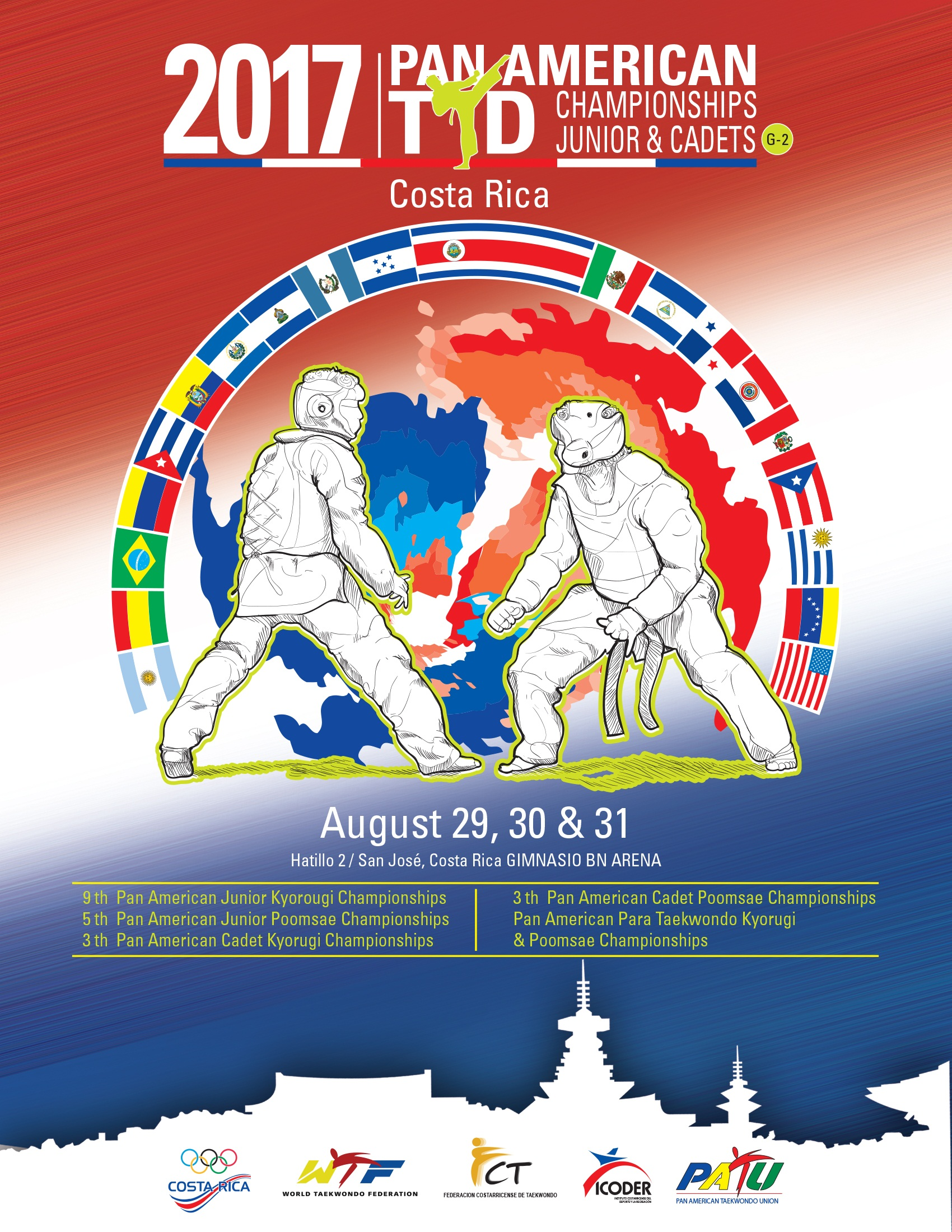 2017 Pan Am Taekwondo Championships Junior and Cadets