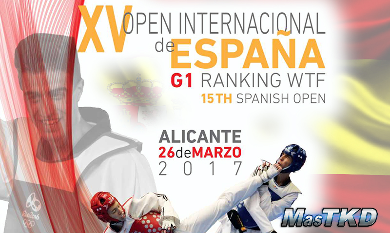 Detalles del Open de España de Taekwondo 2017