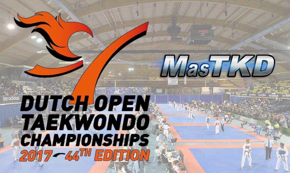 Open de Holanda de Taekwondo 2017, Resultados