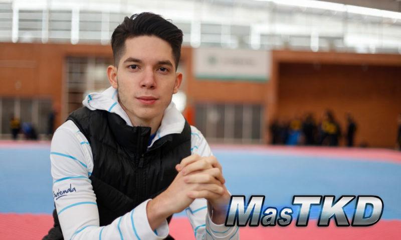 """Francisco Palacios """"lo más difícil de hacer Taekwondo"""""""