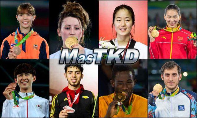 Números 1 – WTF World Olympic Ranking – Taekwondo WTF – febrero 2017.