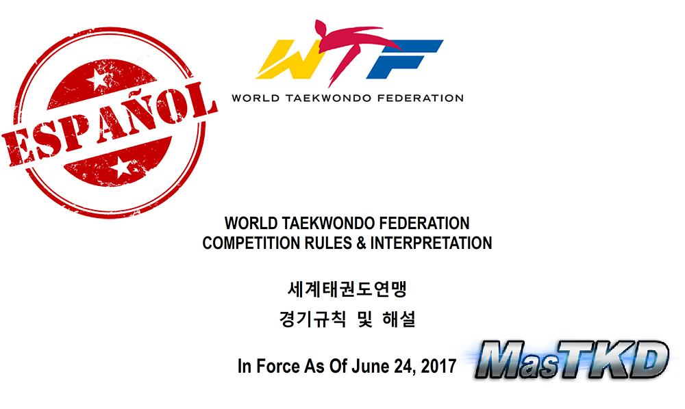 Reglamento de Arbitraje de Combate de Taekwondo en Español (15-11-2016)