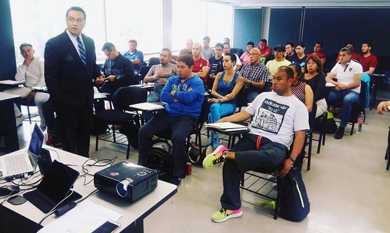 Actividad docente en el Taekwondo