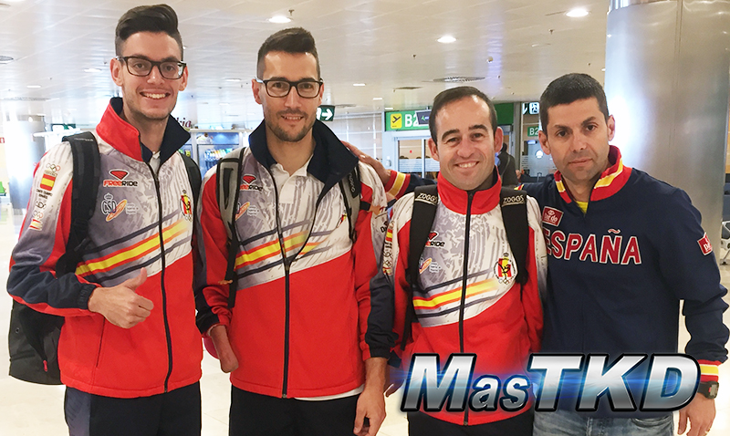 Selección española de Para-Taekwondo viaja al Open de África