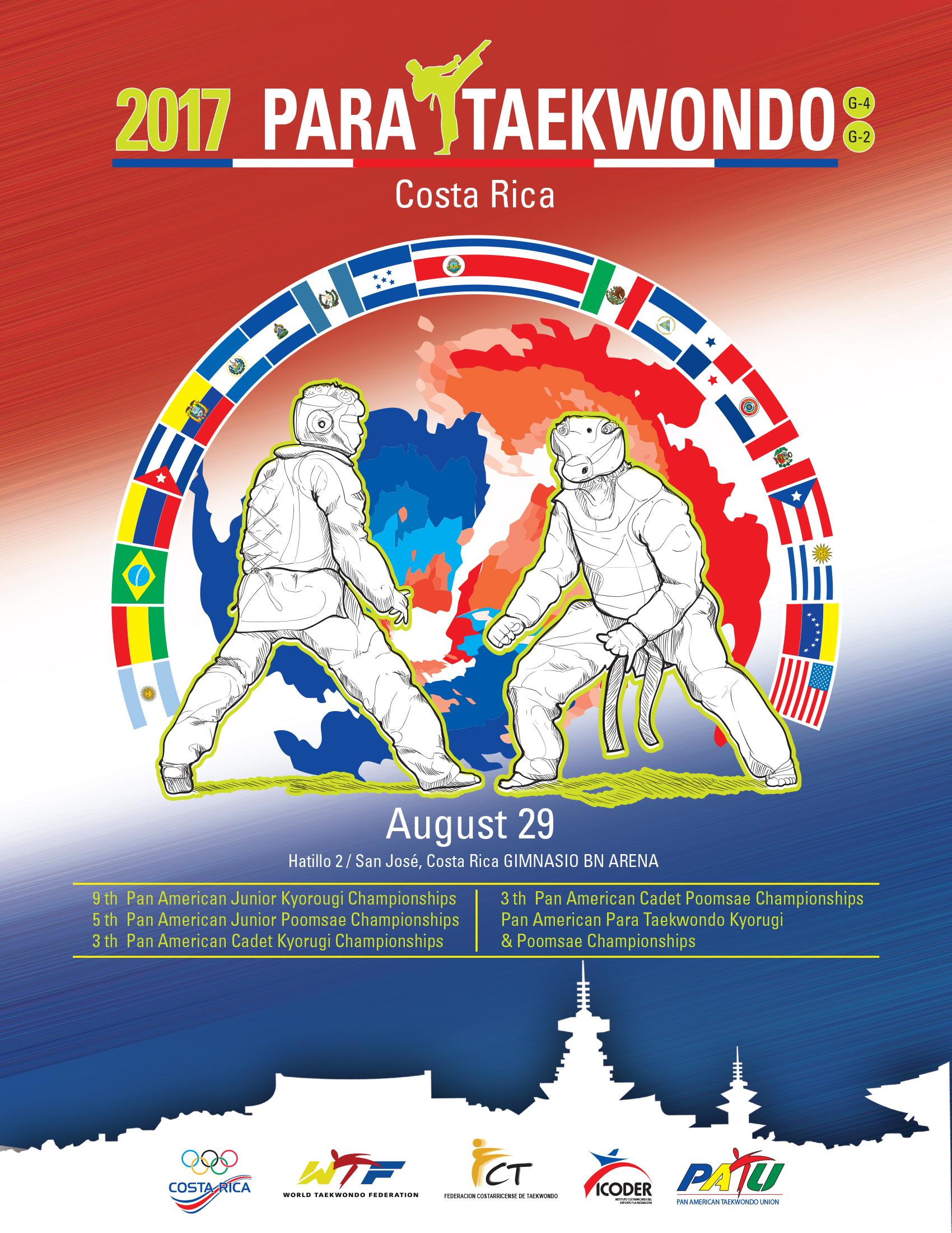 Para Taekwondo Panamerican Championships G-2 G-4