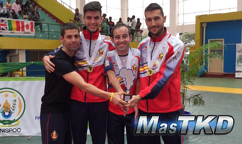 España consiguió dos oros y una plata en Ruanda