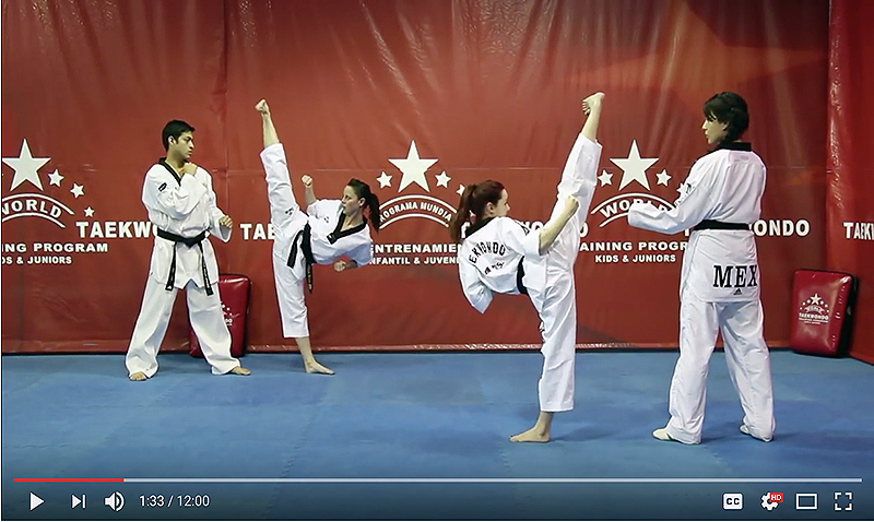 World Taekwondo Program supera el millón de vistas