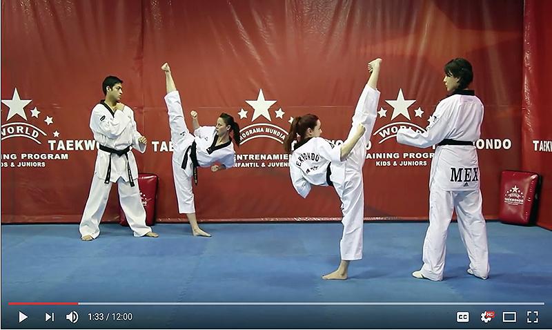 World Taekwondo Program supera el millón de vistas