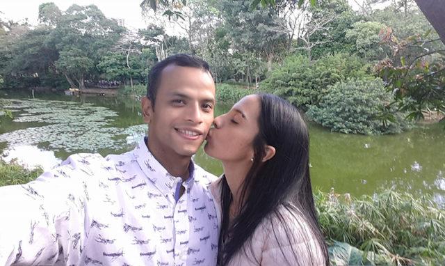 Emotivo mensaje de Leandro Rodríguez a su esposa fallecida