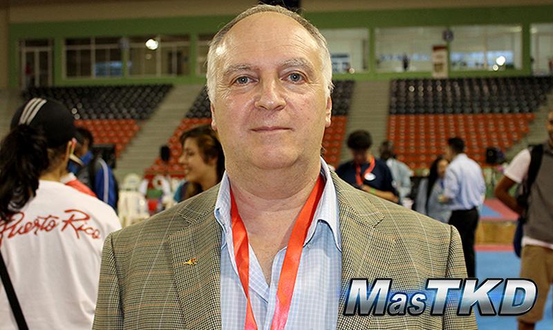 """Mario Mandel: """"quiero ayudar a implementar nuevos rumbos al Taekwondo"""""""
