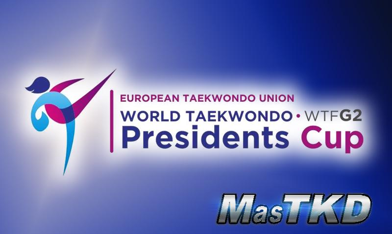 2nd WTF President's Cup 2017, G2 - resultados completos Copa Presidente Europa - Taekwondo