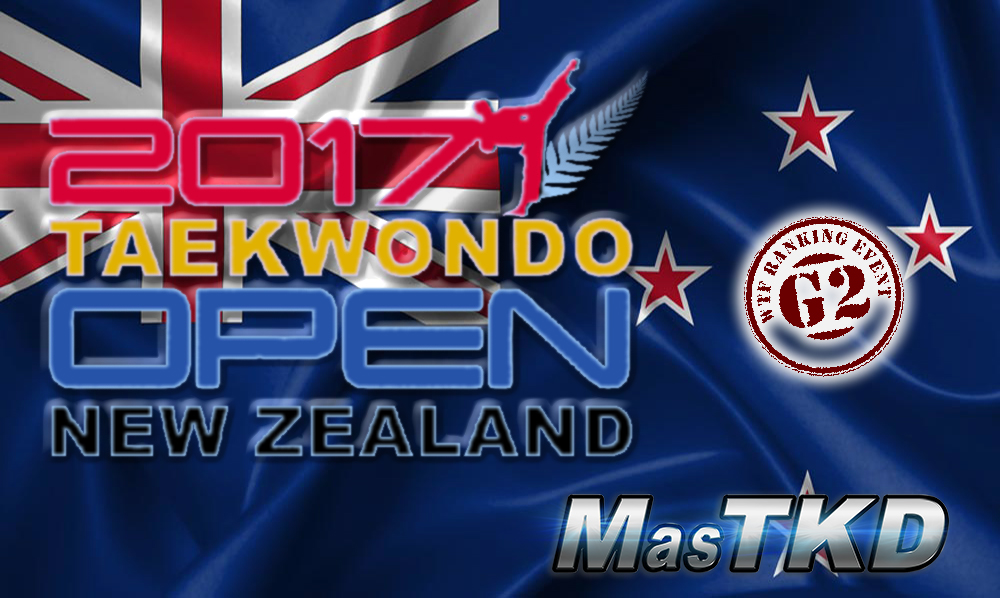2017 New Zealand Open, G2 - resultados Taekwondo
