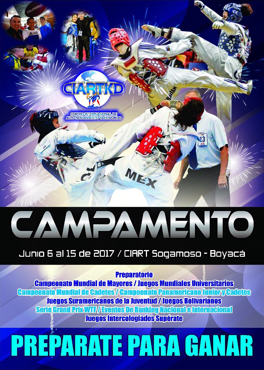 Nuevo Campamento en el CIART de Sogamoso