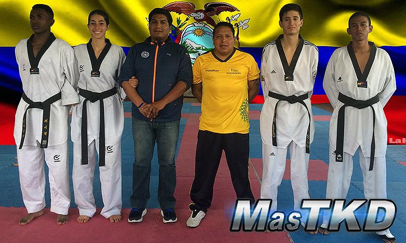 Ecuador con equipo para Muju 2017