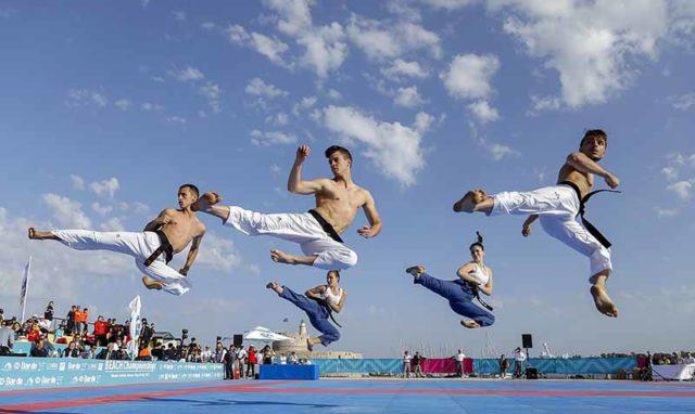 Histórico 1er Campeonato Mundial de Taekwondo de Playa