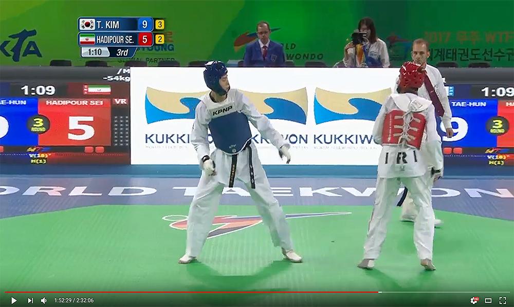 COMBATES_Mundial-Taekwondo-Muju-2017_dia2