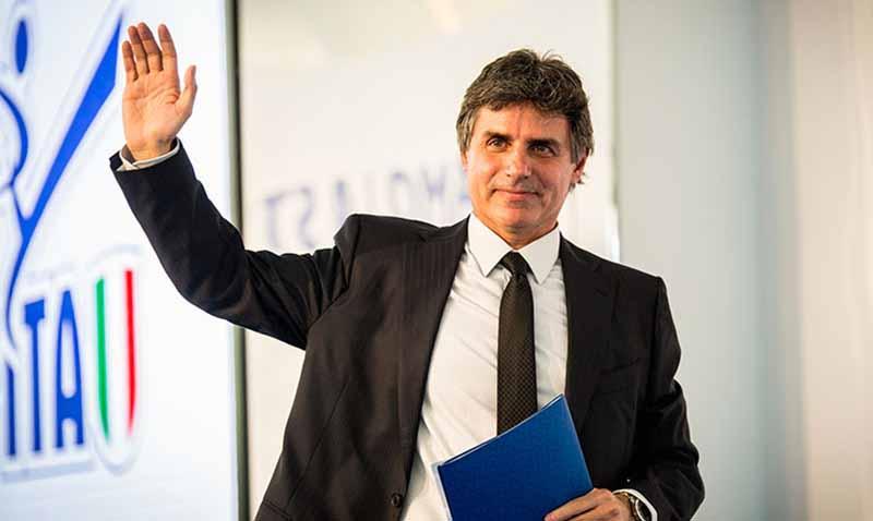 Angelo Cito, presidente de la Federación Italiana de Taekwondo.