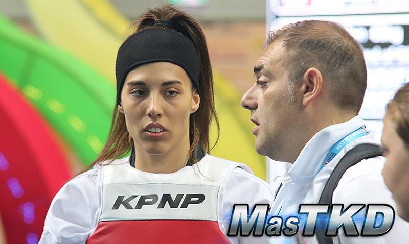 """Eva Calvo: """"en vez Taekwondo parece Sumo"""""""