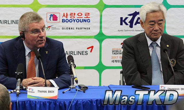 COI y Federación Mundial de Taekwondo quieren unir Coreas