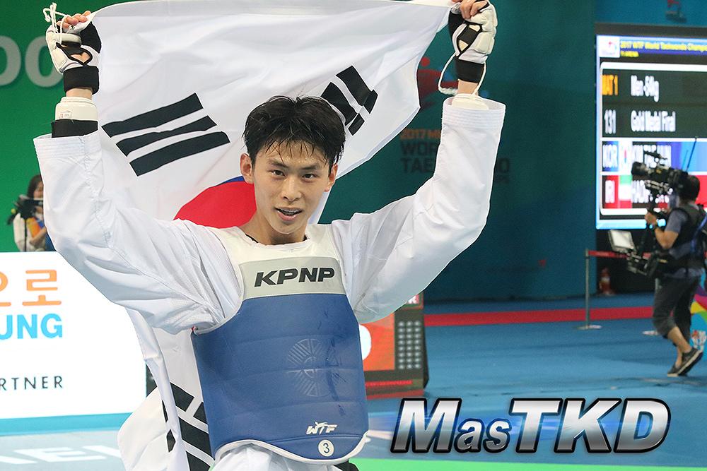 Poderío coreano: honor que perdura
