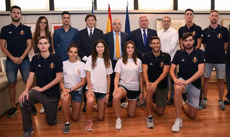 Equipo de España rumbo al GP de Moscú
