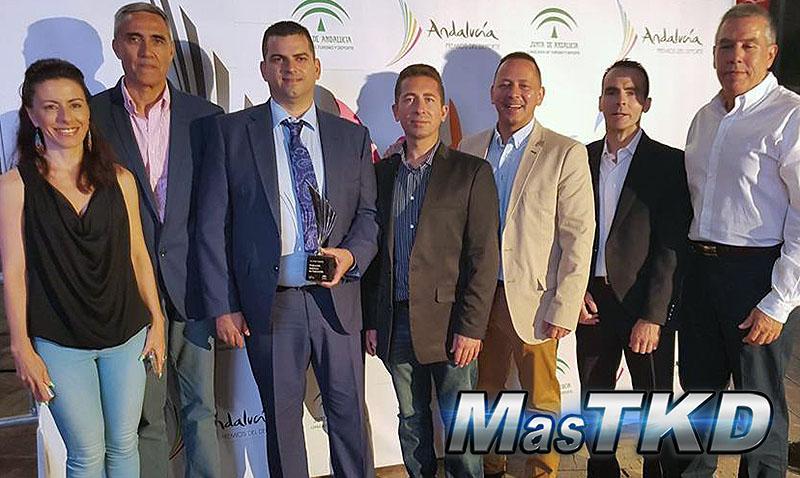 Premio sin precedentes para el Taekwondo andaluz