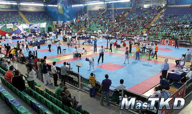 Detalles del campeonato panamericano junior y cadete for Gimnasio arena