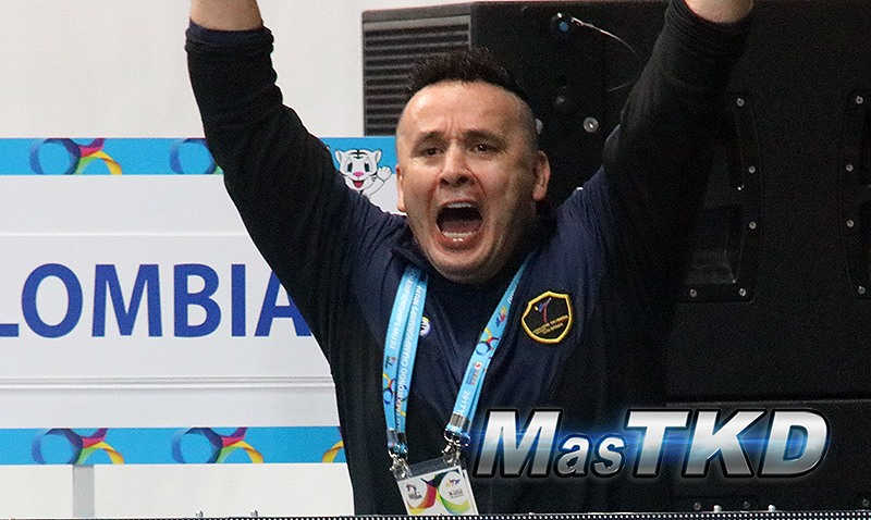 René Forero resucita al Taekwondo con medallas mundiales