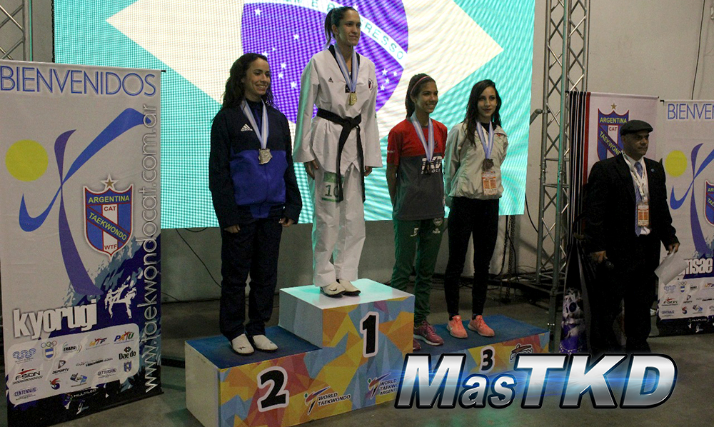 4to Argentina Open 2017 G1 - podios