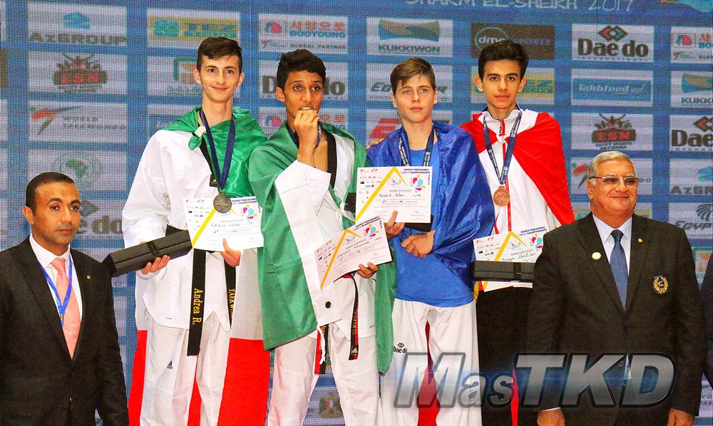 20170824_M-65_Podio_Mundial-CADETES_Sharm-El-Sheikh