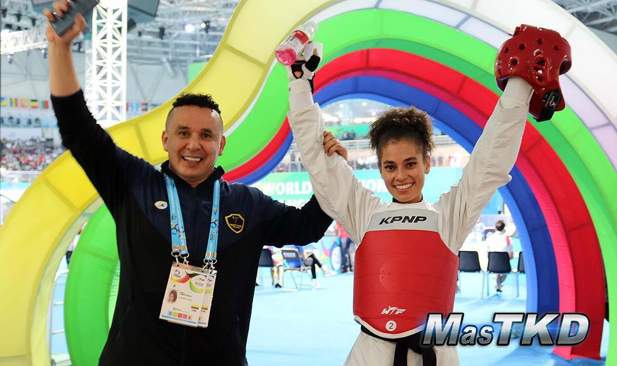 Andrea Ramírez: novata que conquistó el mundial