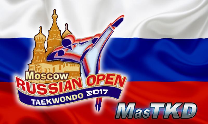 Russian Open Taekwondo 2017 - resultados