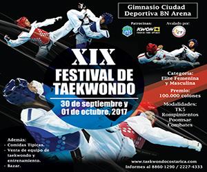 XIX Festival de Taekwondo