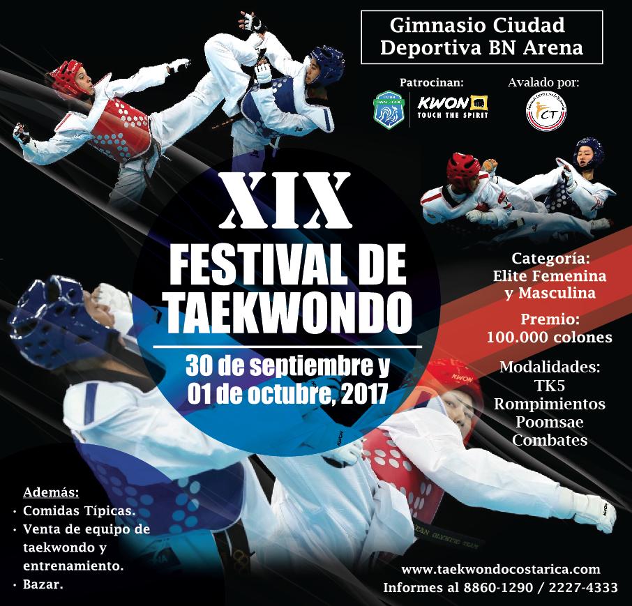 POSTER_XIX-Festival-de-Taekwondo