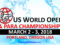 US World Open Taekwondo Championships tiene 9 países confirmados
