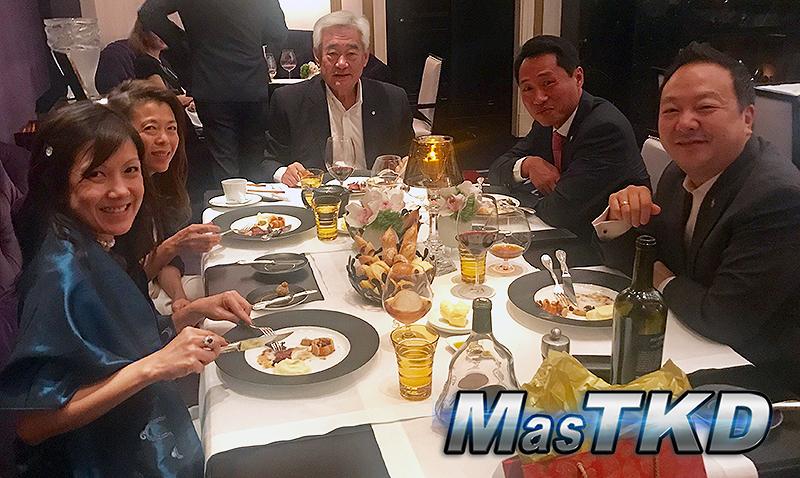 Reunión entre PATU y el Dr. Chungwon Choue