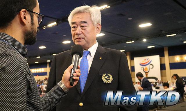 Dr. Choue: Otro momento muy importante para el Taekwondo
