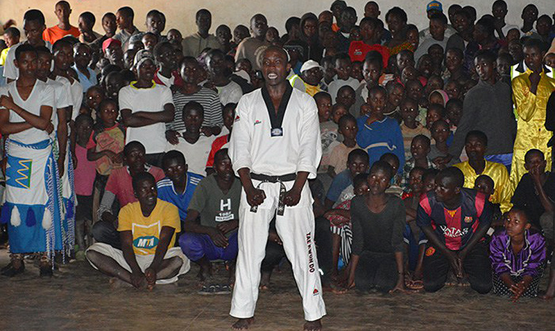 ESPN destaca labor humanitaria del Taekwondo