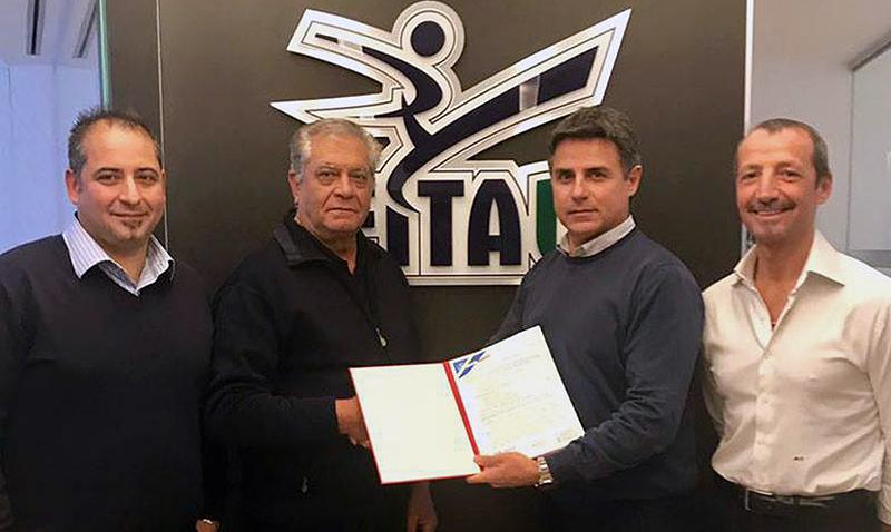 Daedo firma acuerdo con Federación Italiana por dos años