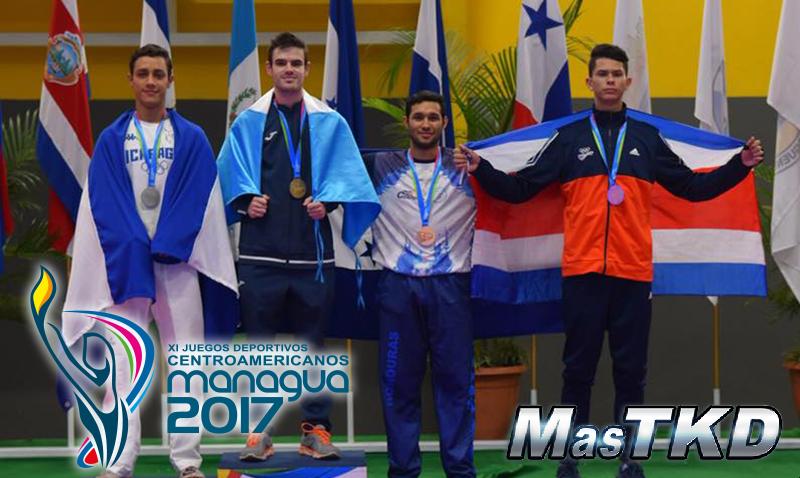 Podio_Managua2017_Taekwondo