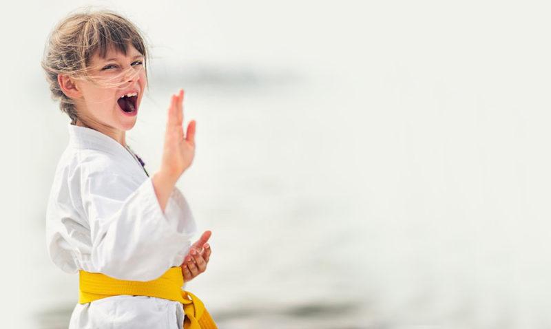 NinaGritando-Taekwondo